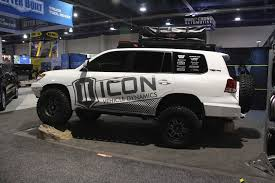 100 Icon Trucks SEMA 2018 ICON Shows Off Complete CustomsBuilt Land Cruiser