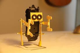 how to make a walking robot with moving arms 1 ice cream stick