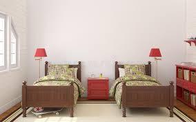 une chambre pour deux enfants chambre à coucher pour deux enfants illustration stock