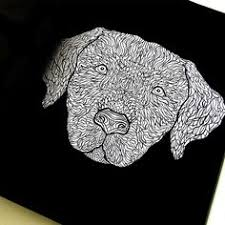 Detailed Dogs A Complicated Canine Coloring Book By Amazon Dp 1517330963 Refcm Sw R Pi