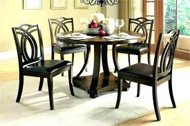Dining Room Chair Set Of 4 Round Table For Ms Chairs Hide Away