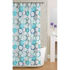 Navy Blue Chevron Curtains Walmart by Mainstays Circles Peva Shower Curtain Walmart Com