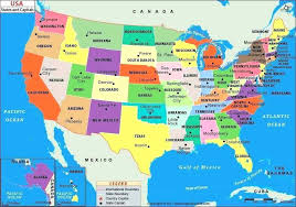Maps State And Capital Map Us States Capitals Of Quiz