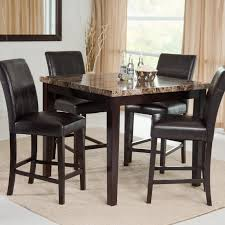 Round Dining Table Set | 5 Piece Foster I Round Dining Set In Dark ... Ding Room Set Round Wooden Table And Chairs Black 5 Piece Rustic Kitchen Farmhouse 48 Inch Sets Insurserviceonline Unique Extension Khandzoo Home Decor Best Bailey With Turned Legs Rotmans The Kaitlin Miami Direct Fniture Glass Ikea Dinner Comfortable Chair Circular Tables And Amazoncom Pac New 5pc Antique White Wash Cherry Finish Stanley Juniper Dell 5piece Dunk Ashley With Design Material Harbor View 4 Slat Back
