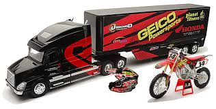 Amazon.com: New Ray Toys 1:32 Scale Racing Rig Gift Set - Geico ... Honda T360 Crawler 1963 Blue 143 Ebbro 43654 Ebay Toys Models Tuning Magazine Long Haul Trucker Newray Ca Inc Team Pinterest Cars And Motors Unboxing Toys Reviewdemos Fast Furious Remote Control Silver Mini Xtreme Adventure Two Lane Desktop Hot Wheels Jada 2006 Nissan Titan Tata 1612se Truck Scale Model Youtube Hobbies Trucks Vans Find Products Online At Truck Products