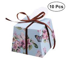 Floral Watercolour Magnetic Closure Gift Box