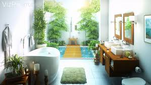 Plants In Bathrooms Ideas by 33 Outdoor Bathroom Design And Ideas Inspirationseek Com