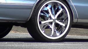 100 Tires And Wheels For Trucks Chevy Car With 22 Inch SPINNER CHROME RIMS YouTube