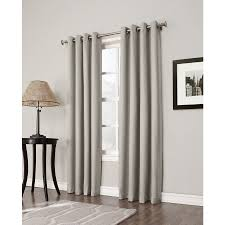 Tahari Home Curtains Navy slate blue and brown curtains blue and gray dining room with