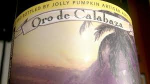 Jolly Pumpkin Oro De Calabaza by Sour The Keg Tap A Latino Craft Beer Site