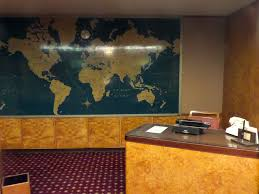 Queen Mary Retro Travel Agent Office