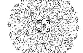 Beautiful Coloring Free Printable Abstract Pages In Page Butterfly Mandala Color