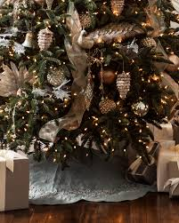 72 Inch Gold Christmas Tree Skirt by Balsam Hill U0027s Winter Frost French Blue Tree Skirt Creates An