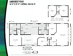 Fleetwood Triple Wide Mobile Home Floor Plans by Marlette Homes Floor Plans Kelsey Bass Ranch 58613