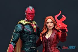 Marvel Legends Series Avengers Infinity War Scarlet Witch Vision Two Pack