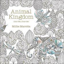 Animal Kingdom A Millie Marotta Adult Coloring Book