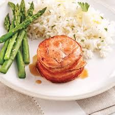 barde cuisine tournedos de saumon bardés de bacon soupers de semaine