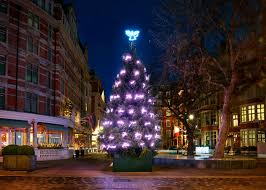 Silver Tip Christmas Tree Los Angeles by Christmas Tree Inspiration From Designers Karl Lagerfeld Dolce