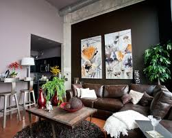Grey Leather Sectional Living Room Ideas by Marvelous Leather Sectional Living Room Ideas Brown Leather