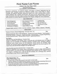 Chemical Engineering Resume 98XC Engineer Template