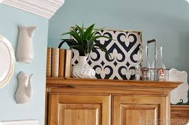 Decorating Above Kitchen Cabiniets Wasted Space Cabinets