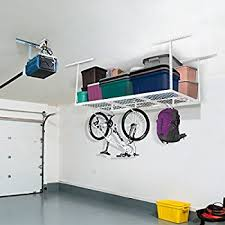 fleximounts 4x8 overhead garage storage rack adjustable ceiling