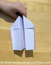 How To Make Paper Airplanes Step Nine