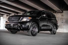 2019 Nissan Armada: Same Rugged SUV With New Standard Safety Tech 2018 Nissan Armada Platinum Reserve Wheel The Fast Lane Truck With Ielligent Rear View Mirror Palmer Vehicles For Sale 2017 Takes On The Toyota Land Cruiser With A Rebelle Yell Turns Rally Car Kelley Tractor And Pull Fair 2011 Nissan Armada Platinum 4wd Suv For Sale 587999 Adventure Drive First Of Pathfinder Titan 2015 Sv 5n1aa0nc1fn603728 Budget Sales 2012 Used 4dr Sl At Conway Imports Serving