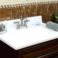 sinks vanity top white sink on left right sinks menards vanity