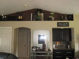Above Cabinet Plant Shelves In Kitchens