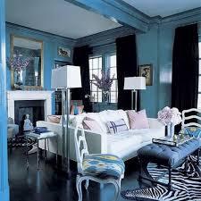 Hollywood Regency White And Black Living Room