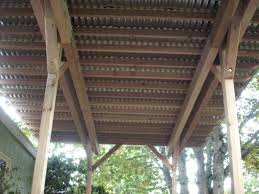 Diy Under Deck Ceiling Kits Nationwide by Corrugated Steel Roof And Porch Corrugated Metal Deck Cover