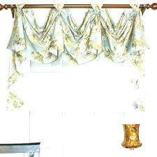 Aqua Dining Room Curtains Curtain Valance Ideas And Valances Swag Love For