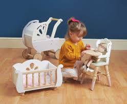 Doll High Chair | Wooden Role Play Toy | Le Toy Van Solid Wood Baby Doll High Chair Olivias Little World Princess Baby Doll Fniture High Chair White Wooden 18 Inch Chiwanji Toddler Ding For 911 Reborn Toy Exquisite Plans Of 17672 Owl Theme Cradle And Highchair Set Delights And Girls Dolls Wardrobe Item Perfect For Ideas Rattan Vintage Miniature Wood Vertigo Toys Old Role Play Le Van Melissa Doug Accsories