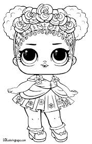 Flower Child Series 3 LOL Surprise Doll Coloring Page