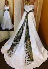 size camo wedding dresses white camouflage wedding