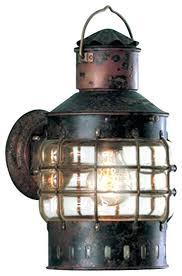 lantern style porch light bronze wireless led craftsman style