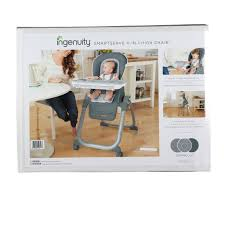 Ingenuity High Chair SmartServe 4-in-1 - Connolly - P&R Baby & Kids