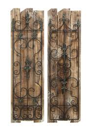 Trendy Large Rustic Wall Art Contemporary Decoration Home Design Wood And Metal Craftsman