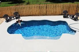 swimming pool small fiberglass pool kits with rubber patio tiles