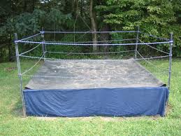 Don't Try This At Home -- Here's The INCREDIBLY Unsafe Ring We ... Kids Playing In Wrestling Ring Youtube Best And Worst Wrestling Video Games Of All Time Kbw Kids Backyard Wrestling Backyard Pc Outdoor Fniture Design And Ideas Affordable Title Beltstm Home Arena Ring 2 Videos Little Kids A Backyard Where Is Chris Hansen Wxw Youtube Dont Be Like Me Mullet Proof Vest Backyards Ergonomic Kid Toddler Roller Coaster