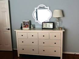 Pier One Dressing Mirror by Nightstand Nailheads On Dresser Diy Mirrored Nightstand For All