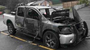 100 The Burnt Truck Donald Trump Stickers Are Reason For Washington Truck Fire Owner Says