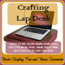 Padded Computer Lap Desk by Crafting Lap Desk Make Crafting More Fun And Convenient