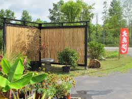 Backyard Privacy Ideas Exterior Top Notch Picture Of Grey Brick ... Install Bamboo Fence Roll Peiranos Fences Perfect Landscape Design Irrigation Blg Environmental Filebamboo Growing In Backyard Of New Jersey Gardener Springtime Using In Landscaping With Stone Small Square Foot Backyard Vegetable Garden Ideas Wood Raised Danger Garden Green Privacy For Your Decorative All Home Solutions Spiring And Patio Small Square Foot Vegetable Gardens Oriental Decoration How To Customize Outdoor Areas Privacy Screens