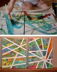 Want To Start Teaching Art Early Here Are Some Great Ideas For Introducing Young Children Projects Without Turning Your House Into A Paint Smeared