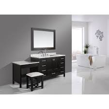 Double Sink Vanity With Dressing Table by 17 Double Sink Vanity With Makeup Table Built In Linen