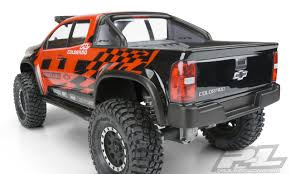 100 Large Scale Rc Trucks ProLine 351700 Chevy Colorado ZR2 Clear Body For 123 Crawlers