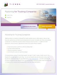100 Factoring Companies For Trucking For