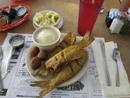 The Catfish Place Whole Fingerling Lunch